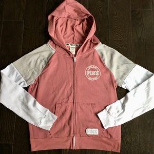 Pink by Victoria's Secret Zip-Up Sweatshirt Jacket